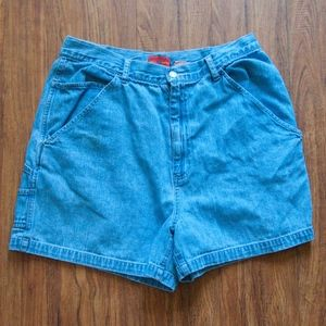 Vintage High Waisted Carpenter Shorts Sz by Kikimo